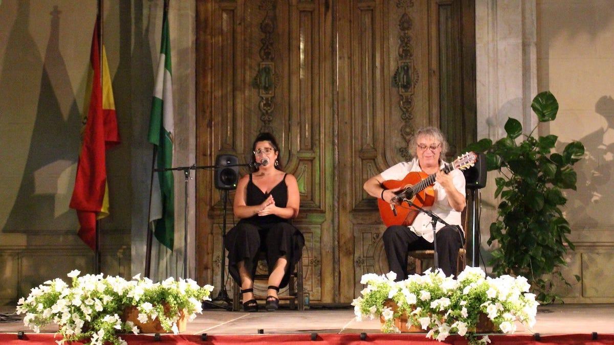 Un concierto de flamenco en Montilla.