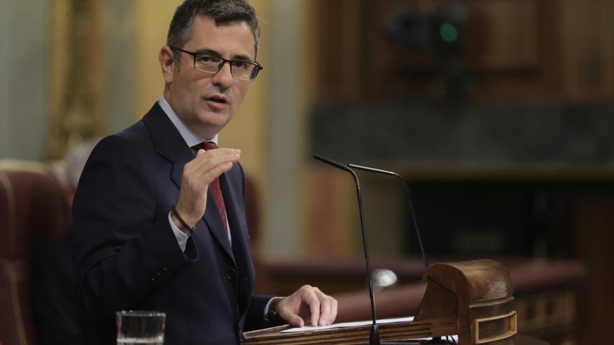 El ministro de Presidencia, Relaciones con las Cortes y Memoria Democrática, Félix Bolaños.