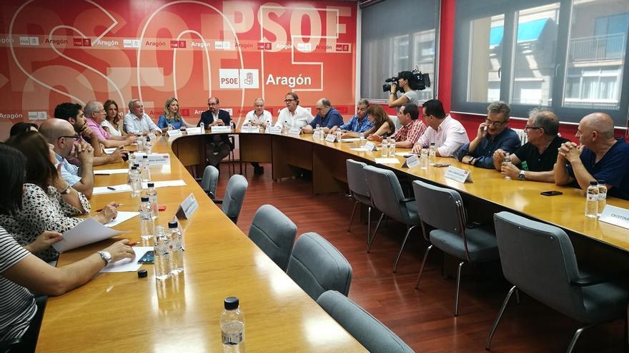 La Ejecutiva del PSOE-Aragón convoca el 1 de septiembre el Comité Regional que fijará la fecha del XVI Congreso