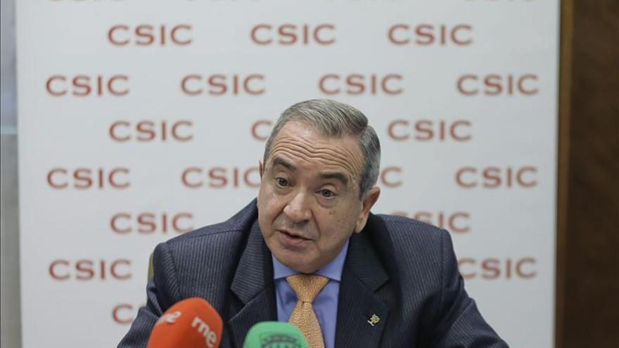 El presidente del CSIC, Emilio Lora-Tamayo. / Efe