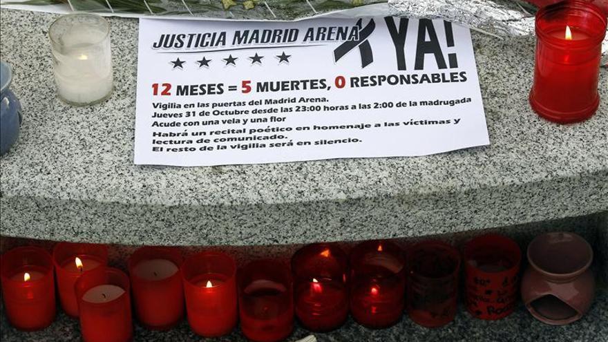 Comienza a declarar ante el juez un joven que estuvo en la fiesta del Madrid Arena