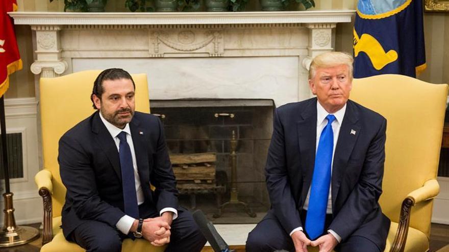"""EE.UU. confía en una transición """"ordenada"""" en Líbano tras la dimisión de Hariri"""