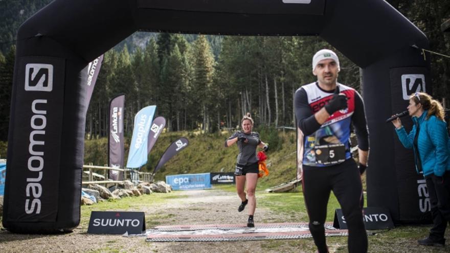 Marta Palau, vencedora de la primera prueba de Fly Running (© Fly Running / Sergi Colomé).