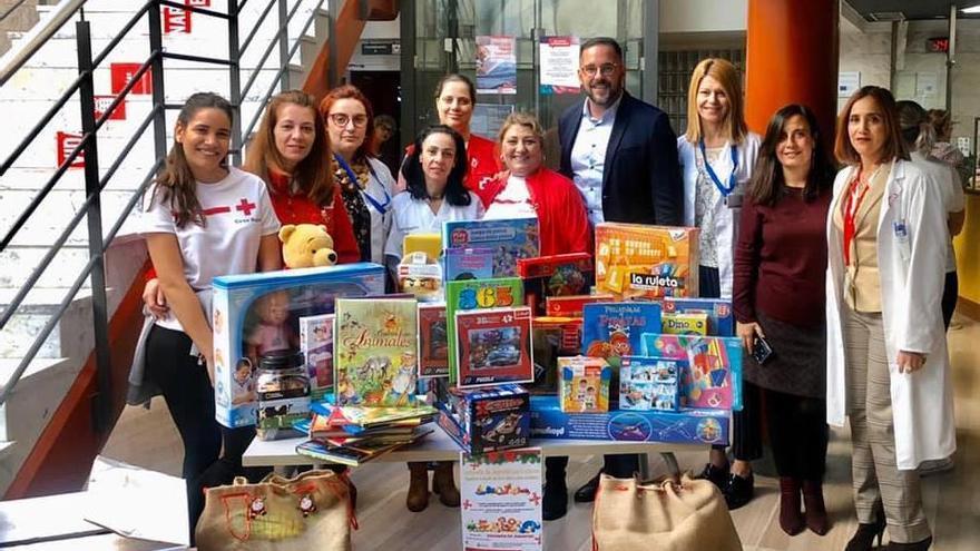 Recogida de juguetes en el Hospital General de La Palma.