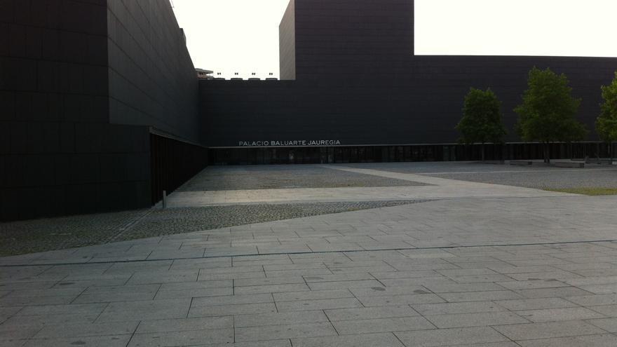 El Palacio de Congresos y Auditorio de Navarra, Baluarte.
