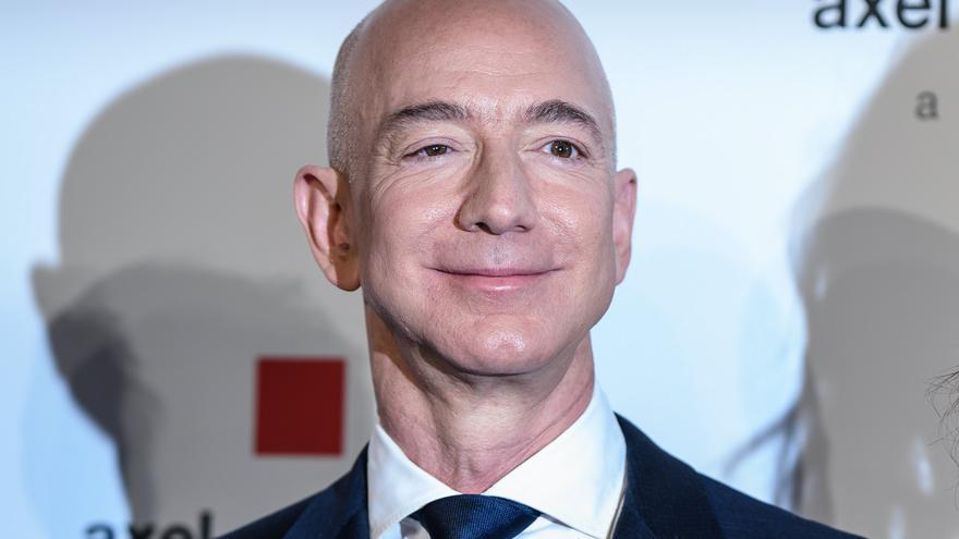 El fundador y director ejecutivo de Amazon, Jeff Bezos.