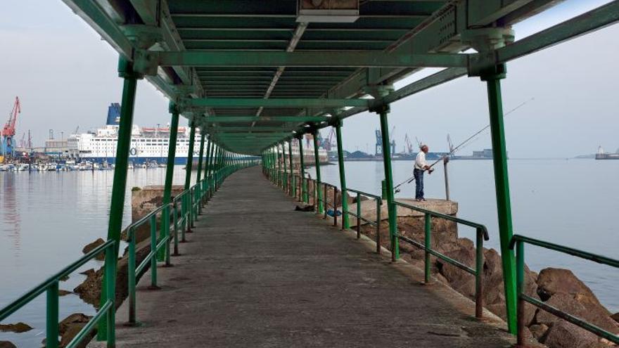 Muelle de hierro o de Churruca (Portugalete)