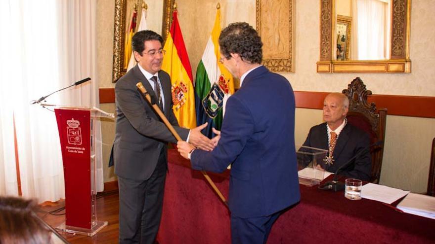 Pedro Martín recoge el bastón de mando este sábado en Guía de Isora