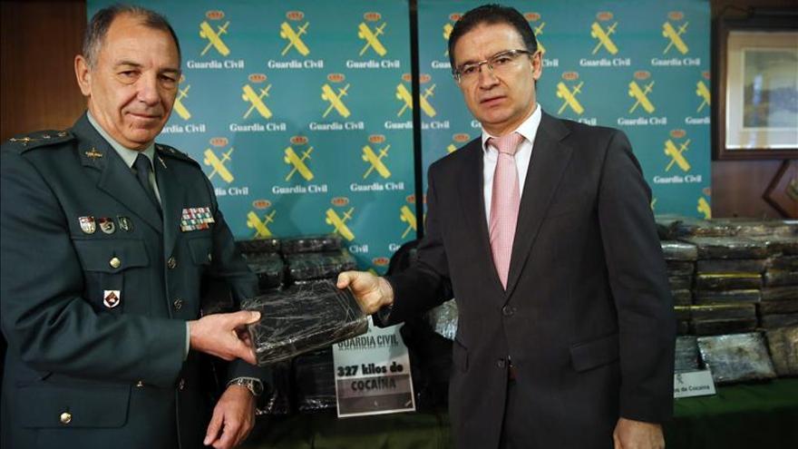 Aprehendidos 327 kilos de cocaína en Ontinyent (Valencia)