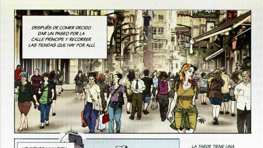 Vigo, a todo color en un cómic de aventuras