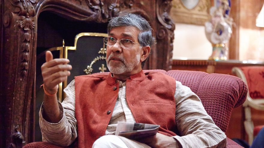 Kailash Satyarthi, Premio Nobel de la Paz 2014 y un histórico defensor de los derechos de la infancia. (Campaña Mundial por la Eduación)