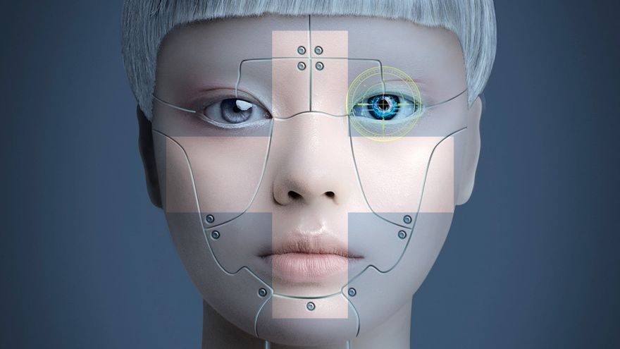 +Humans: Cyborg Girl