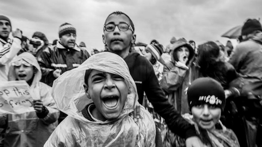 El proyecto fotográfico se titula 'El Camino de la Vergüenza' /