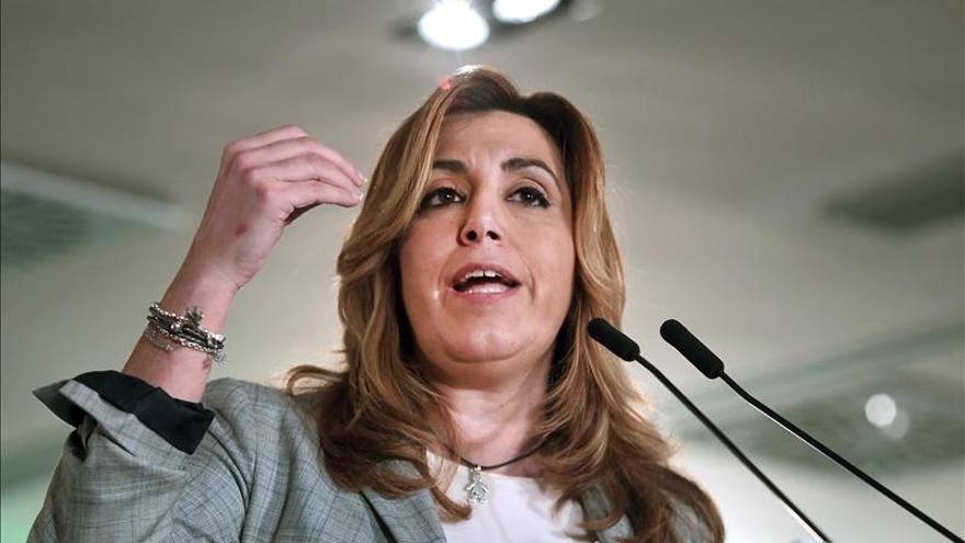 Susana Díaz pide a entidades financieras que den la cara y estén a la altura