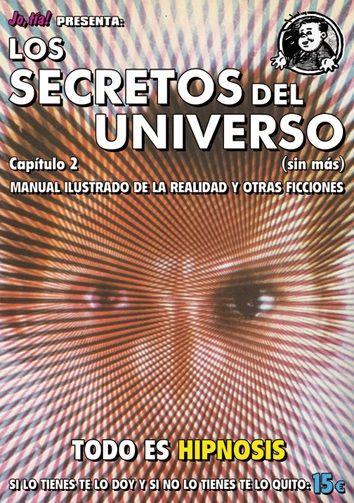 Cubierta de la nueva entraga de Los secretos del universo