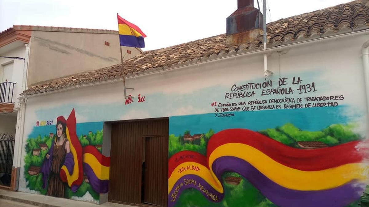 Mural republicano Madrigueras