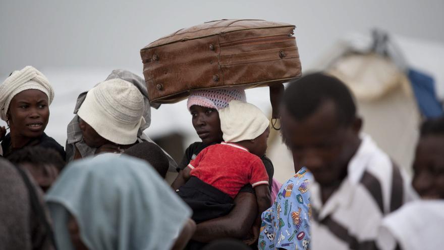 La OIM pide el traslado de los 400.000 haitianos que aún viven en los campos