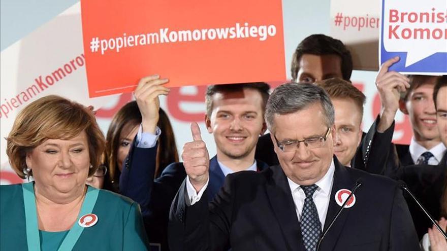 El presidente polaco propone reformas tras su derrota en la primera ronda