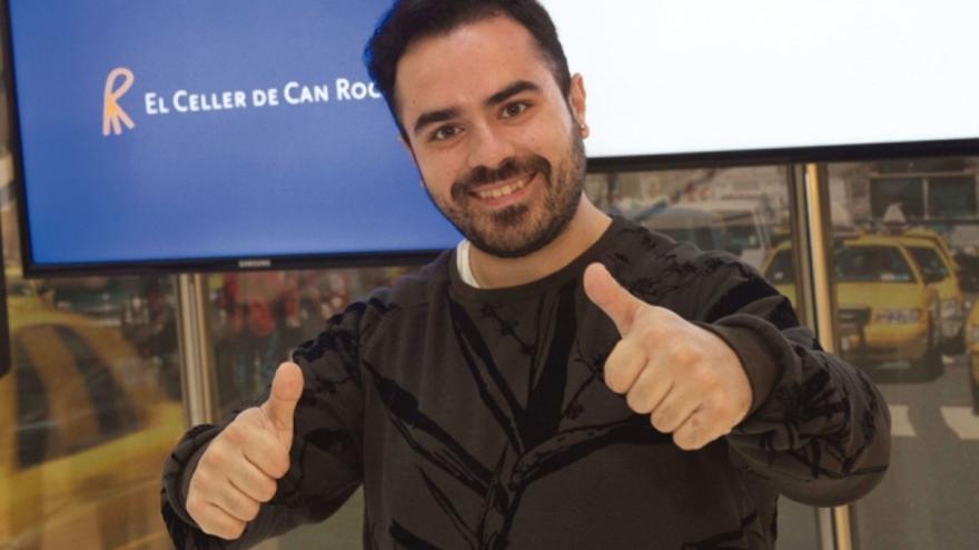 José Martínez, cocinero conquense que ha obtenido una beca para formarse en El Celler de Can Roca