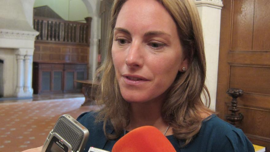 """Quiroga dice que la actitud de Bildu es """"inaceptable"""" y en el PP vasco no hay """"debate interno o externo"""" sobre el tema"""