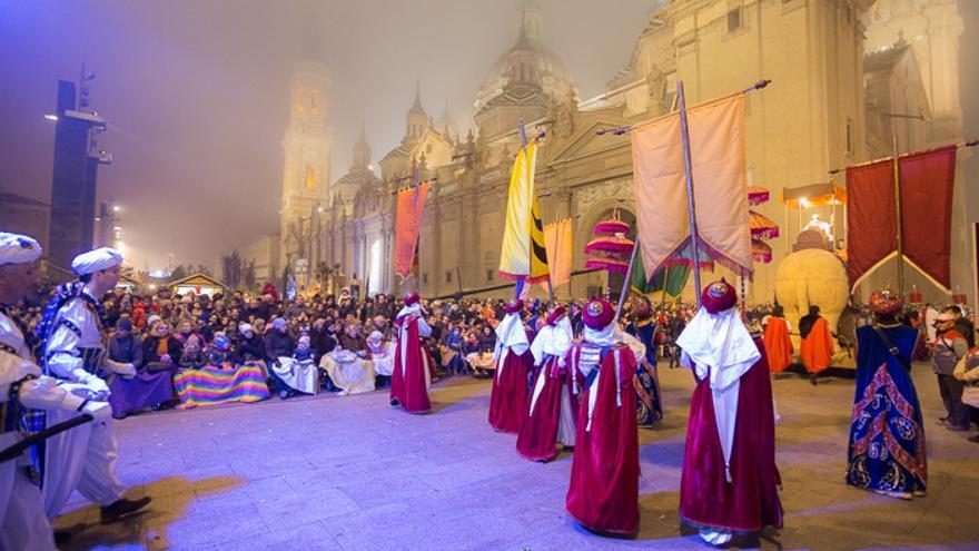 Cabalgata de Reyes de Zaragoza de 2019