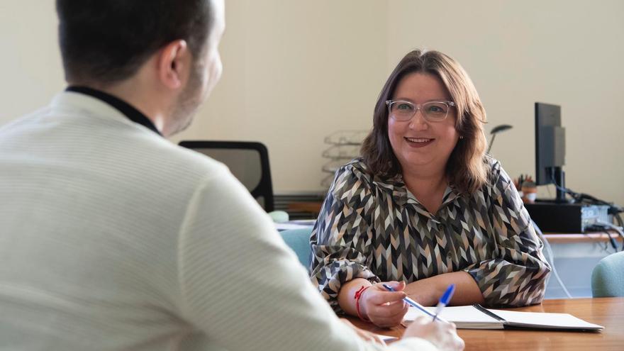 La diputada responsable del área de Publicaciones de la Diputación de Castelló, Ruth Sanz.