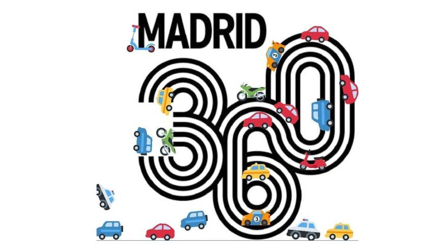 Logo de Madrid 360 reinterpretado por críticos con las medidas