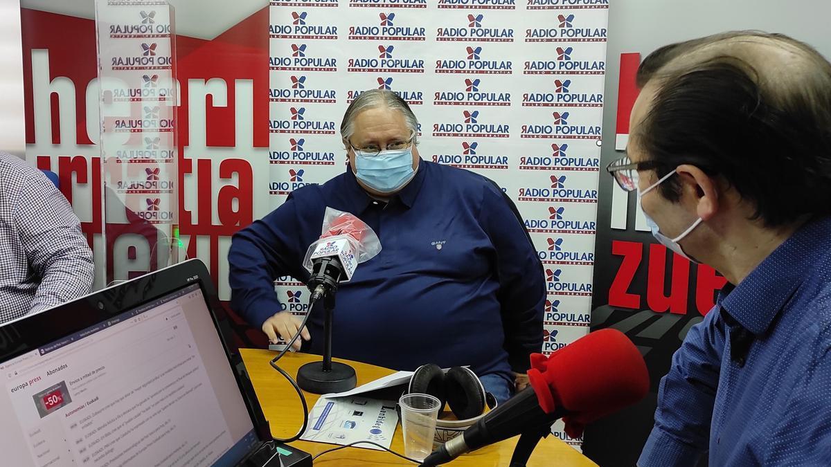 El magistrado Luis Garrido, en una tertulia radiofónica