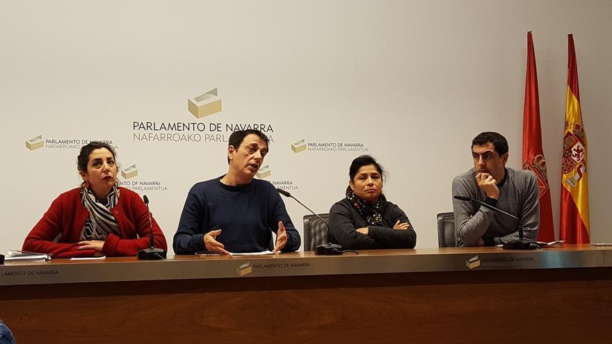 Los parlamentarios afines a Laura Pérez tramitan la sustitución de Mikel Buil como portavoz de Podemos Navarra