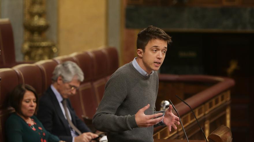 El líder de Más País y diputado en el Congreso, Íñigo Errejón.