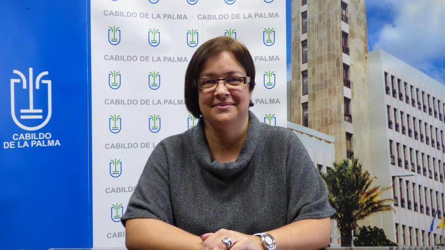 Mayte Rodríguez, consejera del PP en el Cabildo de La Palma.