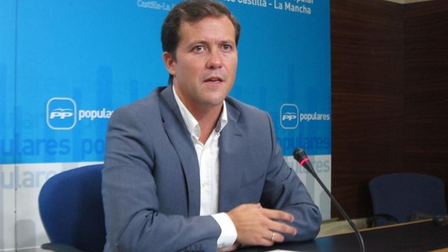 Carlos Velázquez, portavoz adjunto del PP en las Cortes de Castilla-La Mancha