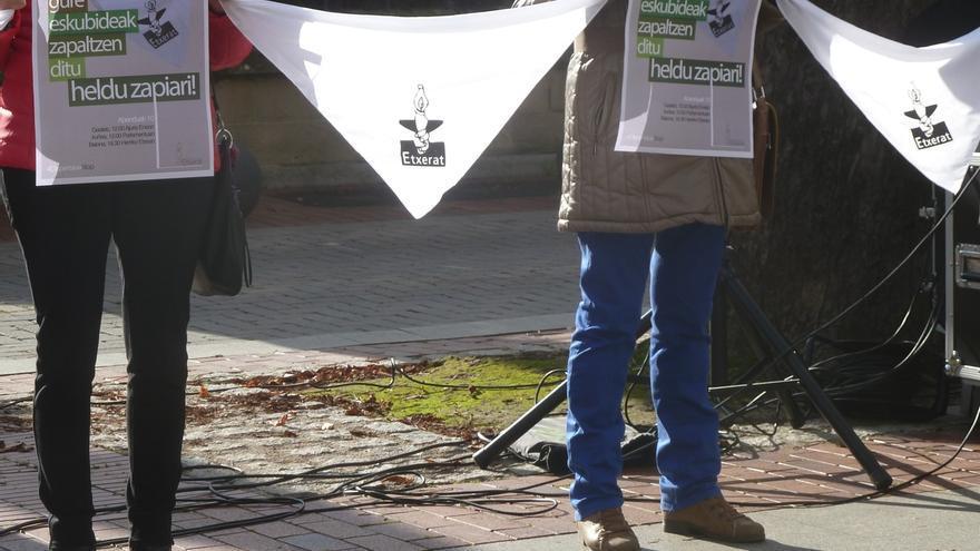 Etxerat celebrará el 10 de diciembre tres cadenas humanas para reclamar el fin de la política de dispersión de presos