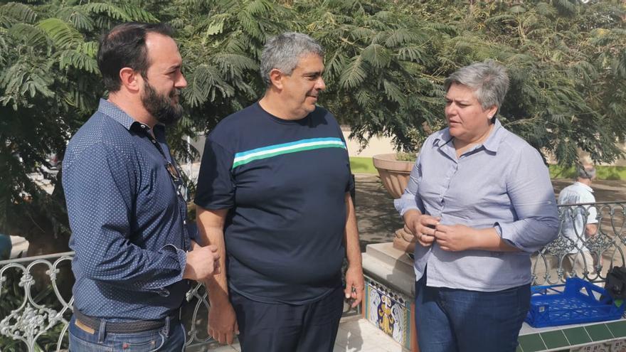 Marcos Lorenzo, Juan Miguel Rodríguez y Noelia García.