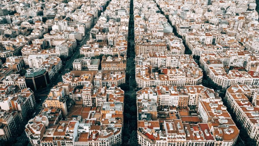 Los ensanche de las ciudades españolas al final no tienen jardines dentro