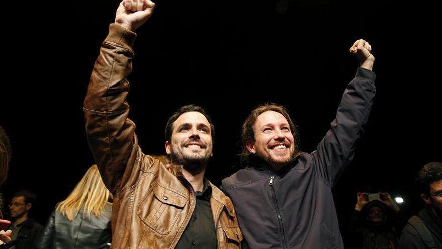 Unidos Podemos, nombre de la coalición de Iglesias y Garzón para el 26J