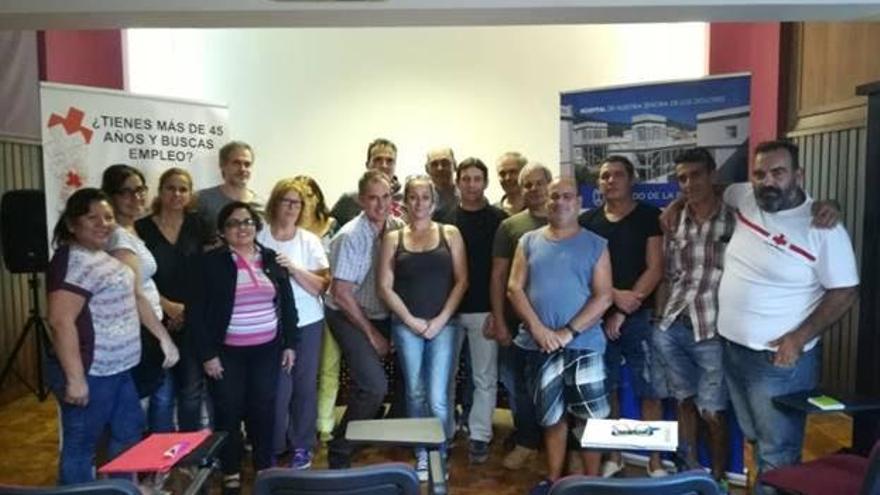 Participantes del proyecto 'Apoyo al empleo + 45'