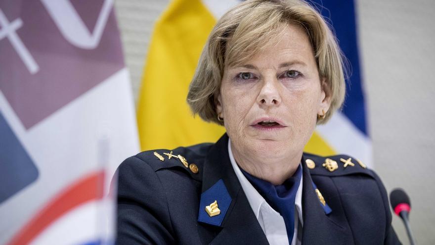 La jefa de la Policía holandesa, Jannine van den Berg.