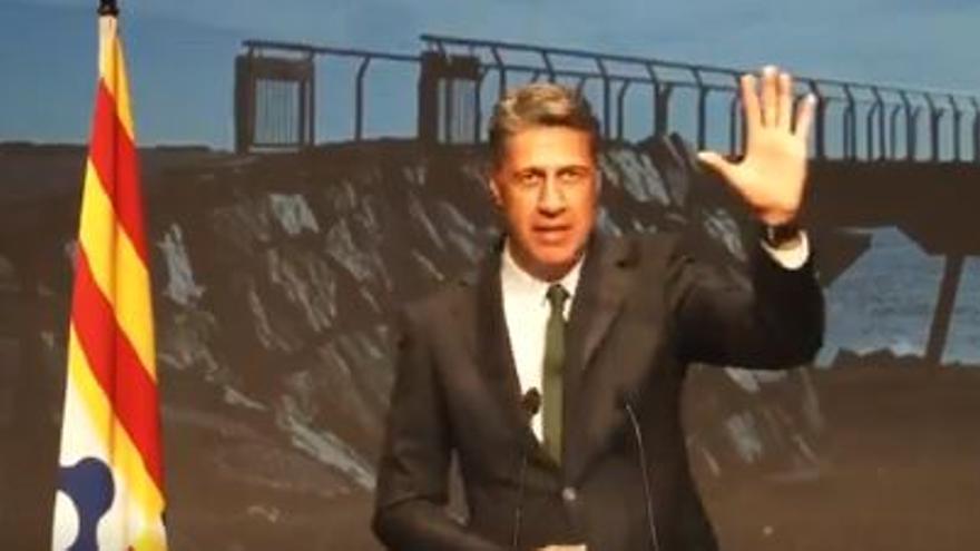 Xavier García Albiol anuncia su candidatura a la alcaldía de Badalona