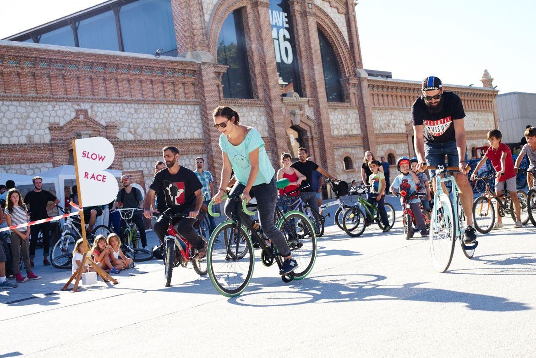 La famosa Slow Race del Festival con B de Bici