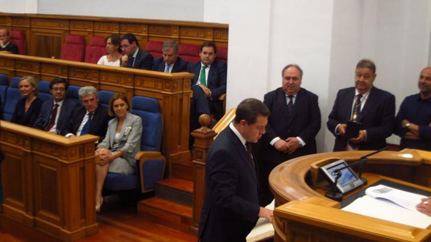 Emiliano García-Page promete su escaño en la constitución de las Cortes / Foto: EUROPA PRESS