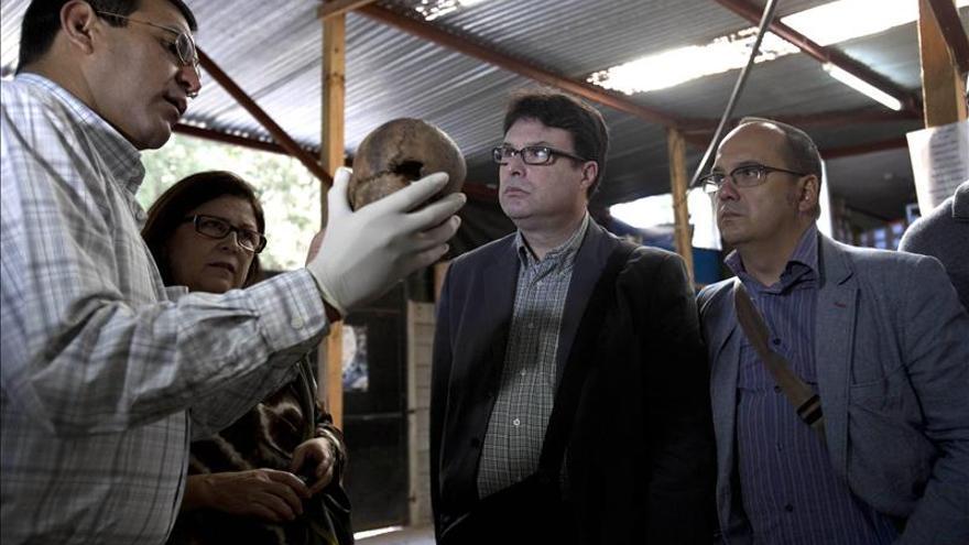 Diputados españoles verifican procesos judiciales por genocidio en Guatemala