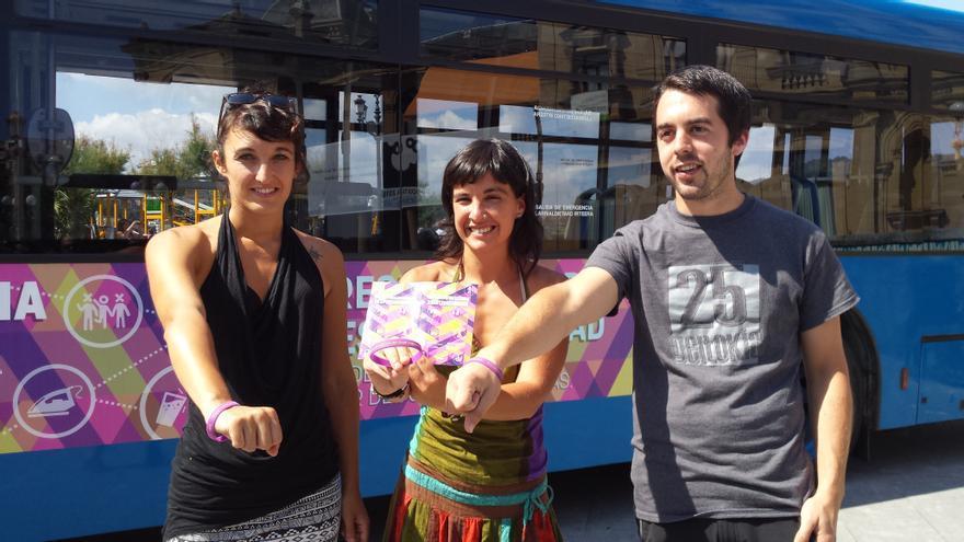 Presentación de la campaña de Igualdad de Semana Grande de San Sebastián