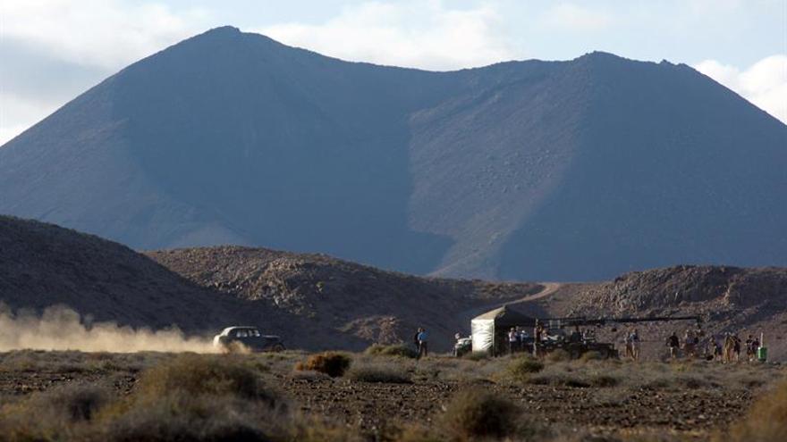 Rodaje de 'Allied' en Fuerteventura