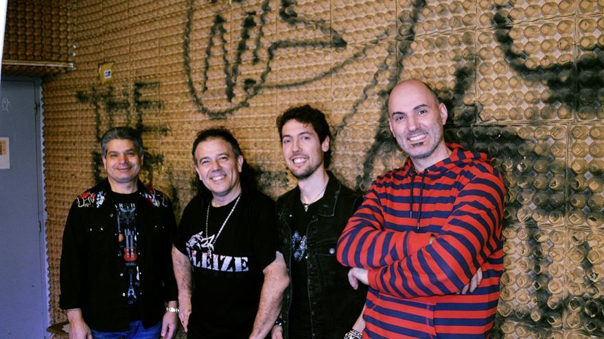 El grupo de rock Leize.