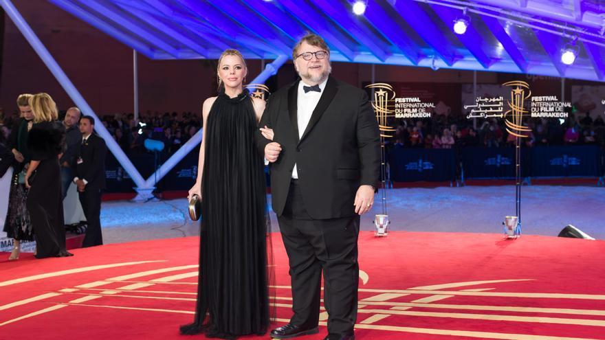 Guillermo del Toro, en la alfombra roja del Festival Internacional de Cine de Marrakech