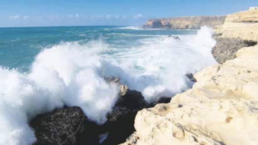 Imagen de archivo del oleaje de Fuerteventura.