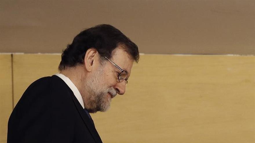 """Rajoy agradece a CC su apoyo y dice sobre el del PNV: """"todo lleva su tiempo"""""""