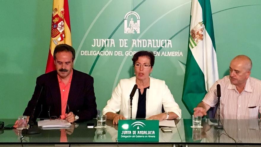Junta inicia esta semana la restauración de la muralla norte de La Alcazaba, afectada de oquedades por humedad