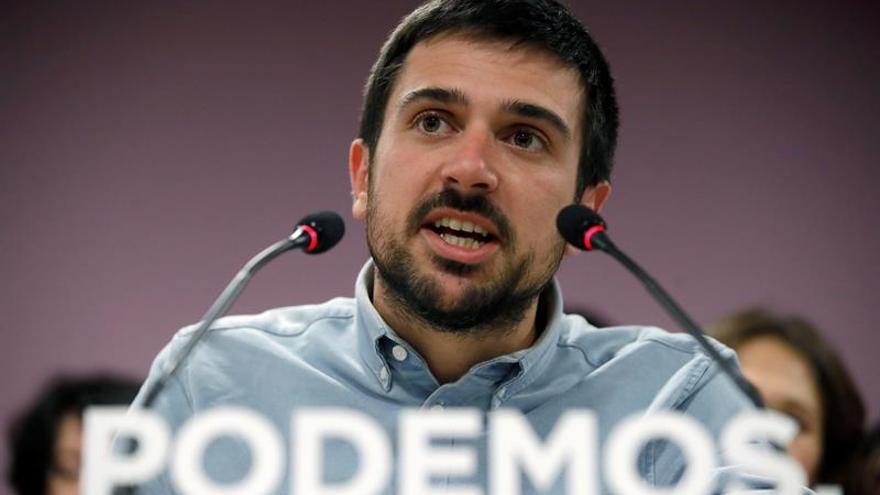 Espinar pide zanjar las disputas internas en Madrid y trabajar por la ciudadanía